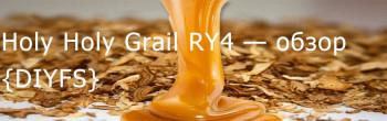 DIYFS Holy Holy Grail RY4 — обзор ароматизатора
