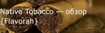 FLV Native Tobacco — обзор ароматизатора