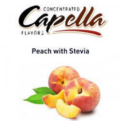 Peach With Stevia Capella