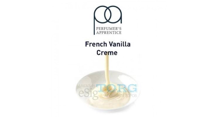 Ароматизатор TPA French Vanilla Creme