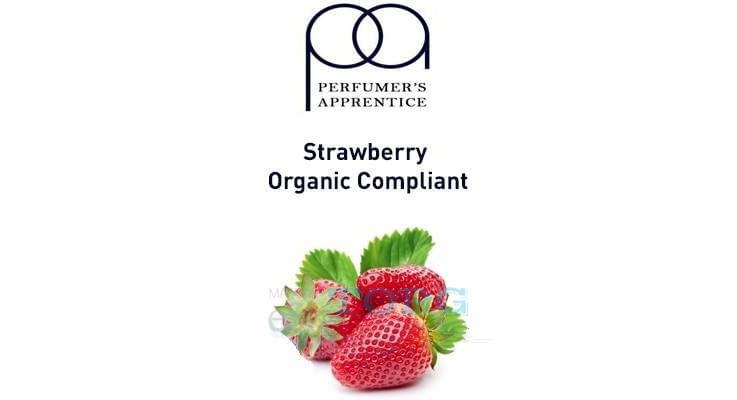 Ароматизатор TPA Strawberry Organic Compliant