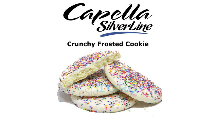 Ароматизатор Capella Crunchy Frosted Cookie