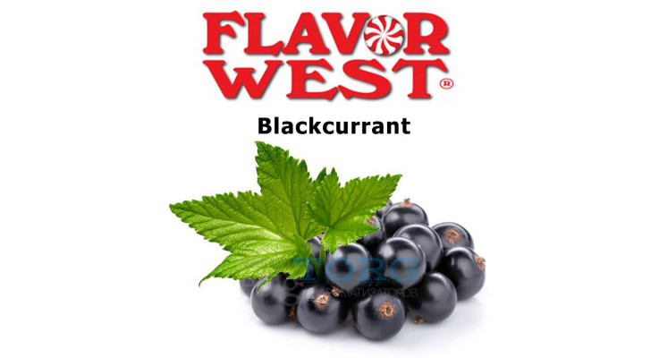 Ароматизатор Flavor West Blackcurrant