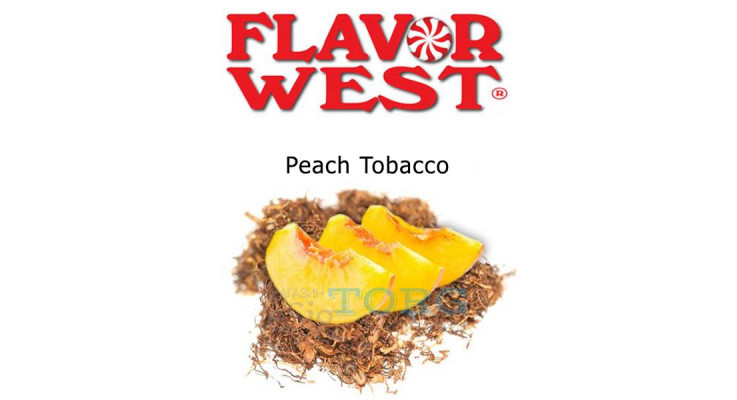 Ароматизатор Flavor West Peach Tobacco