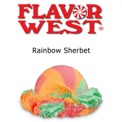 Rainbow Sherbet Flavor West