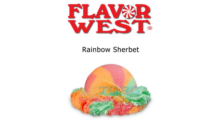 Ароматизатор Flavor West Rainbow Sherbet