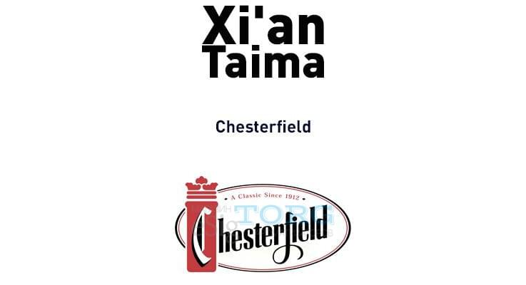 Ароматизатор Xi'an Taima chesterfield