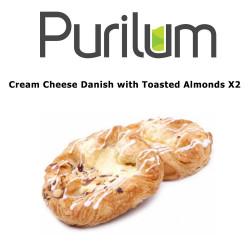 Cream Cheese Danish with Toasted Almonds X2 Purilum