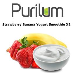 Strawberry Banana Yogurt Smoothie X2 Purilum