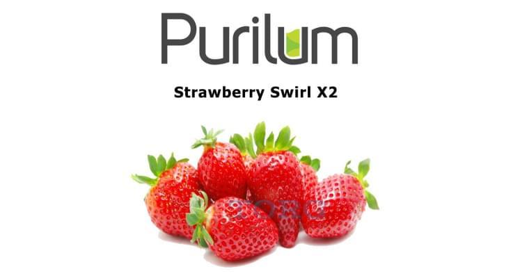 Ароматизатор Purilum Strawberry Swirl X2
