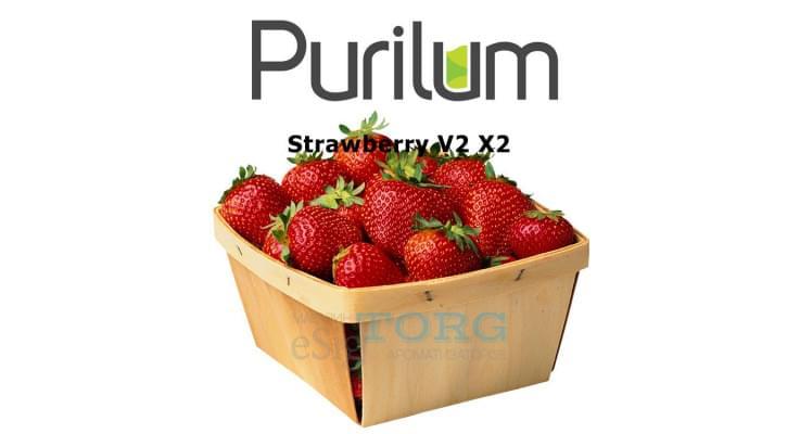 Ароматизатор Purilum Strawberry V2 X2