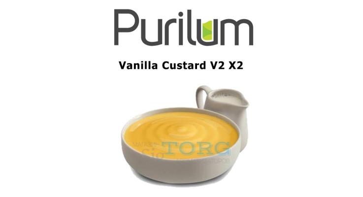Ароматизатор Purilum Vanilla Custard V2 X2