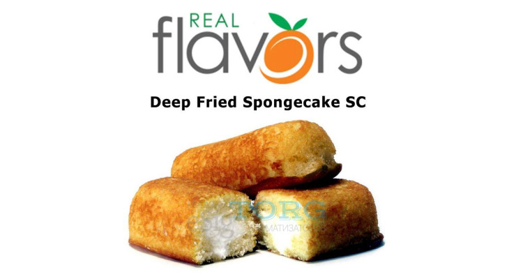 Ароматизатор Real Flavors Deep Fried Spongecake SC