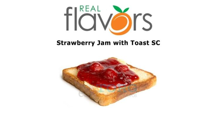 Ароматизатор Real Flavors Strawberry Jam with Toast SC