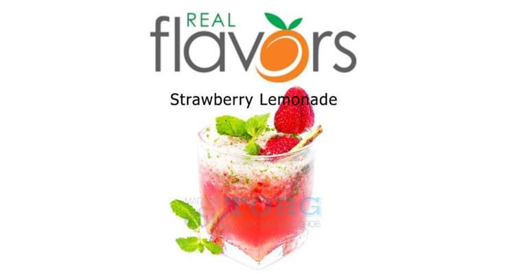 Ароматизатор Real Flavors Strawberry Lemonade SC