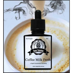 Coffee Milk Froth Vape Train